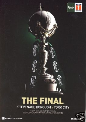 2009 FA TROPHY FINAL - STEVENAGE v YORK CITY